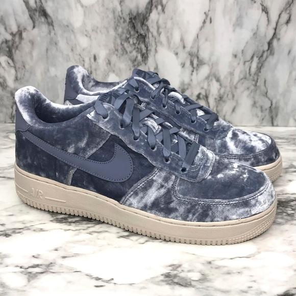 07 High Luxury Velvet, Nike Air Force 1 Low Velvet Air Force